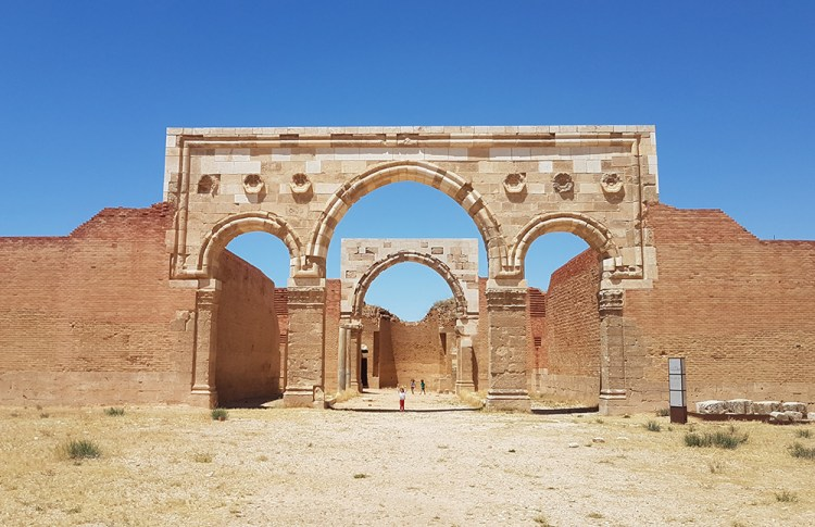 Al mushatta chateau du desert jordanie