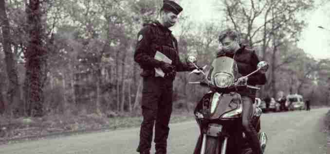 register a stolen motorcycle