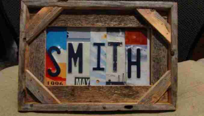 how to recycle old Illinois license plates