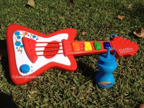 The No-Spill Bubble Guitar