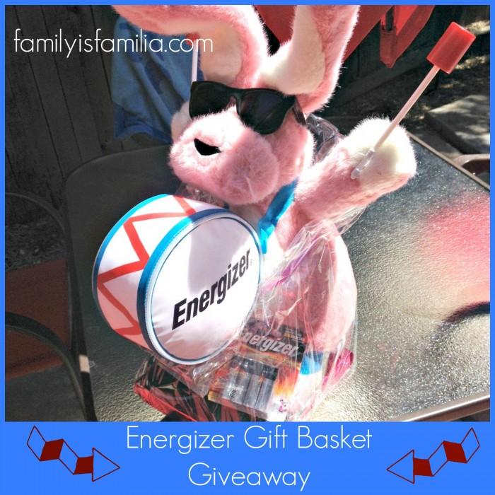 Energizer Gift Basket Giveaway - FamilyisFamilia.com