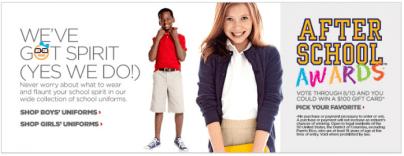 JCPenny School Uniforms-familyisfamilia
