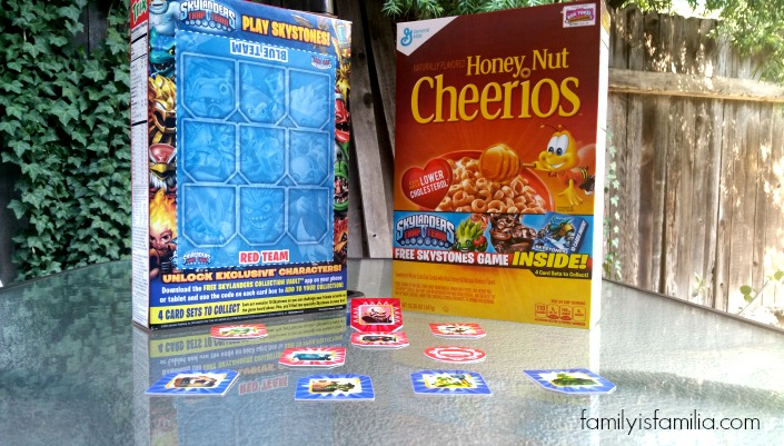 Skylanders Skystones in General Mills Cereals! (Giveaway)