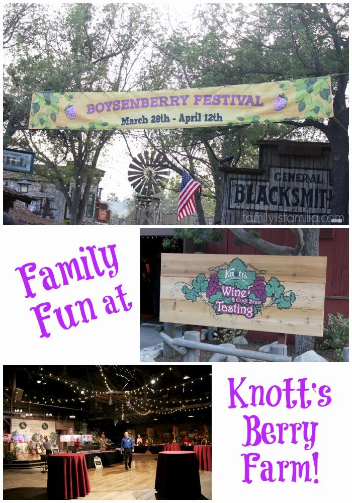 Boysenberry Festival 2015 at Knott's Berry Farm