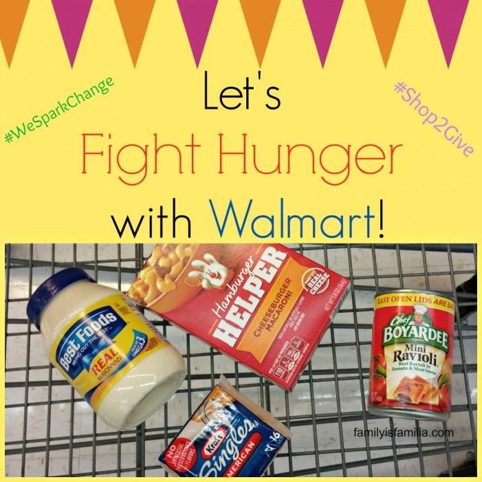 Let's Fight Hunger with Walmart!
