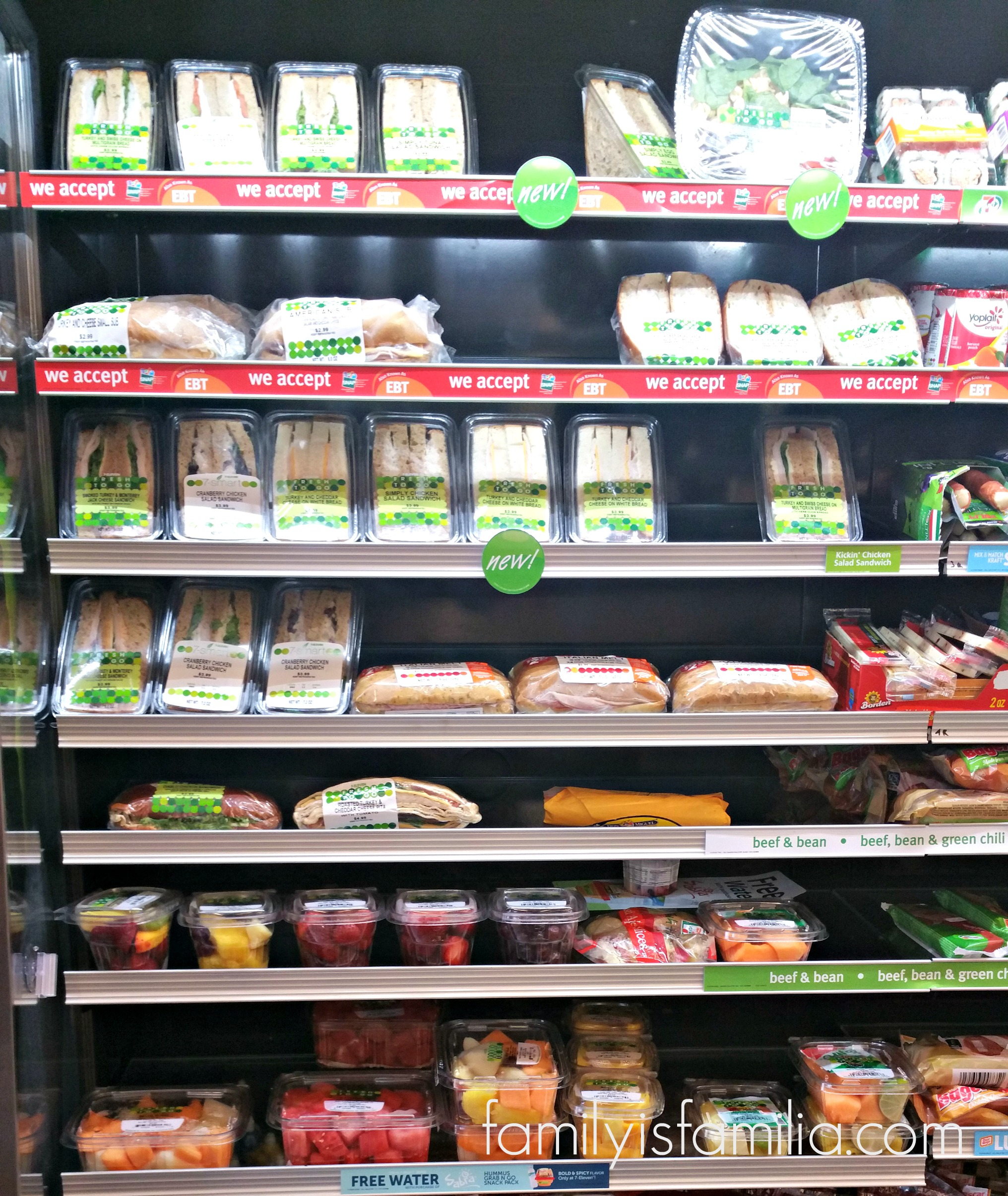Fresh Food at 7-Eleven! Perfect for Summer on-the-go Meals
