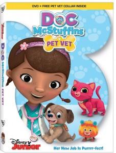 Doc McStuffins Pet Vet--DVD image