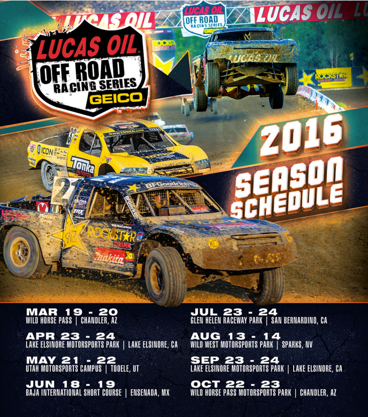 Family Fun at Lucas Oil Off Road Racing Series! #Giveaway