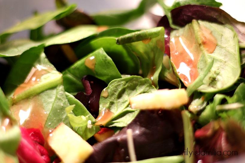 Cranberry Pecan Bacon Salad