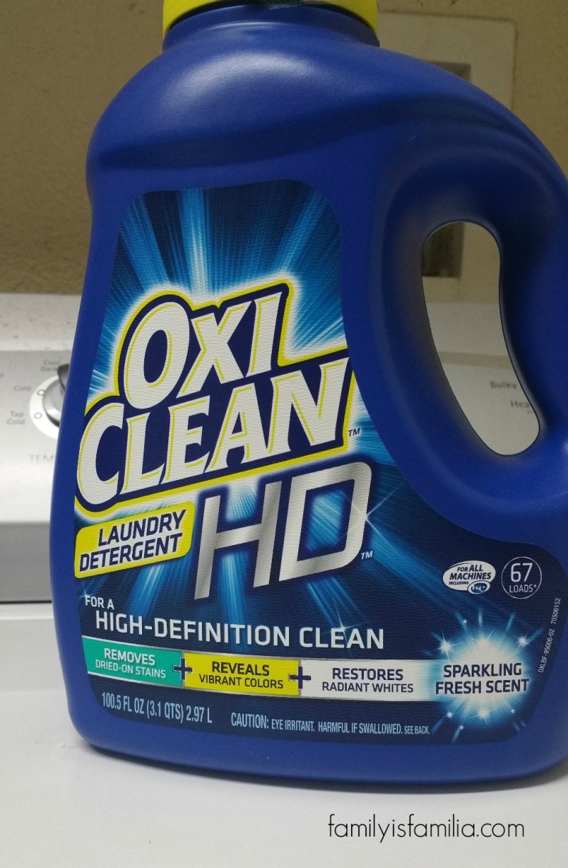 OxiClean and Everyday Family Life