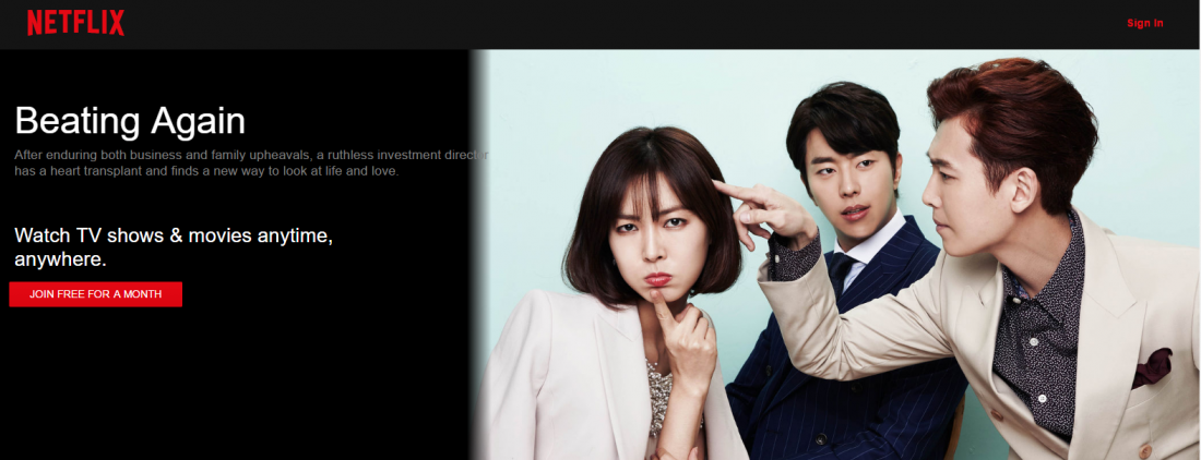 Korean Dramas and More on Netflix