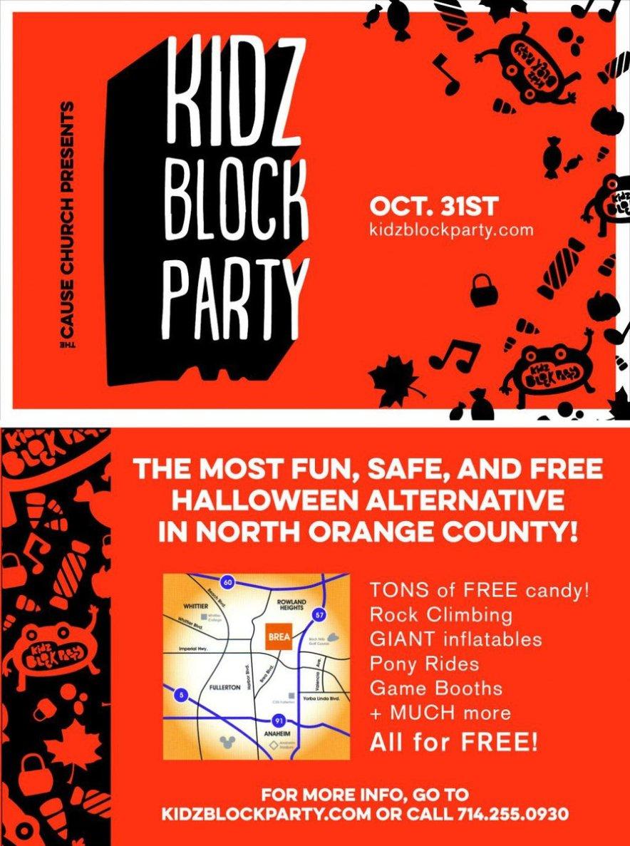 Family-Friendly Halloween Alternative in North Orange County, Ca!