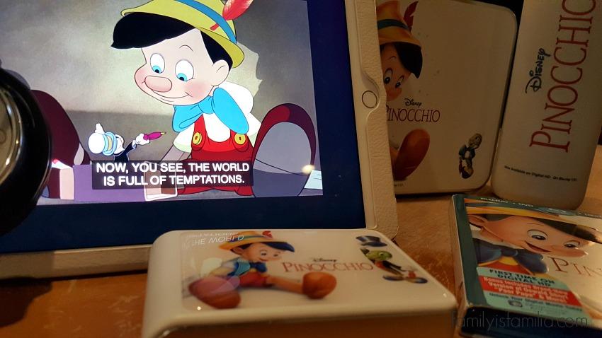 Pinocchio on Blu-ray and Disney Movies Anywhere!