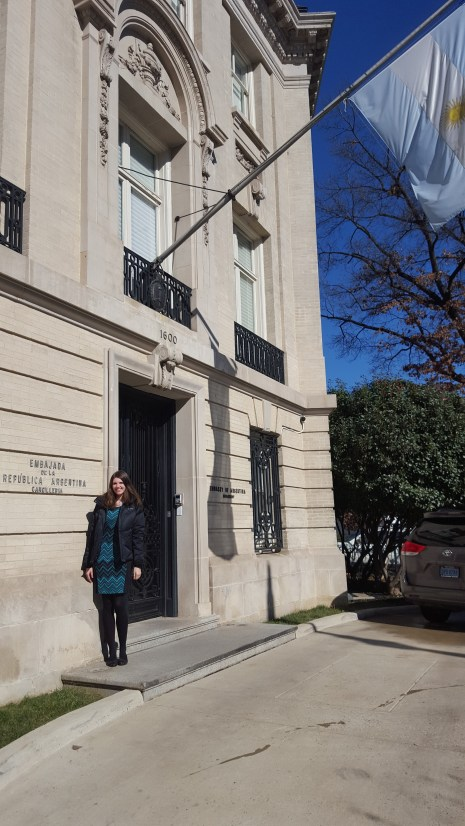Visa interview in DC at Consulate