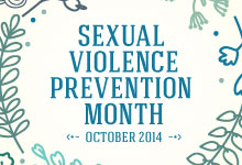 Sexual Violence Awareness Month October 2014 Family Law Firms Brisbane
