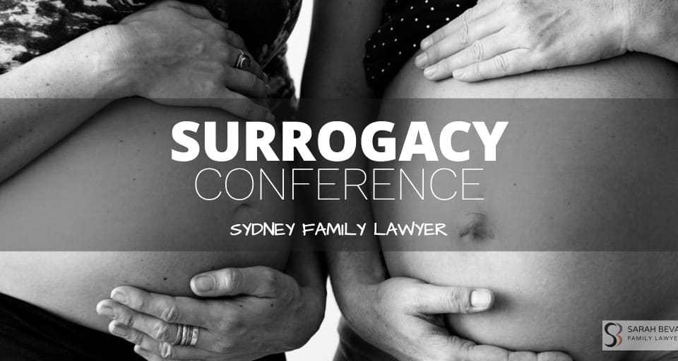 Surrogacy Conference Australia Lawyer