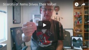 Scarcity of Items Drives Their Value!