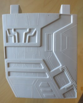 Vintage Original 1977 Star Wars death Star Play set Part Lower wall supports