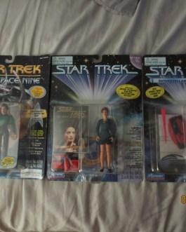 Original 1990's Unopened Star Trek Figures Borg Jadzia Dax & Vash