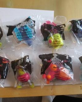 NEW Set of 8 McDonald's Happy Meal 2001 Robo Chi Pets POO-CHI Toy POOCHI