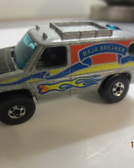 Vintage Hot Wheels 1977 Baja Breaker Silver Nice condition