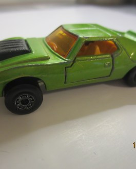 Vintage Matchbox 1972 AMX Javelin Green Nice condition