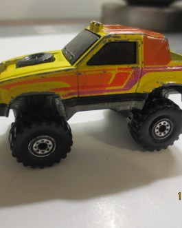 Vintage Hot Wheels 1984 Gulch Stepper Pickup Yellow Nice condition