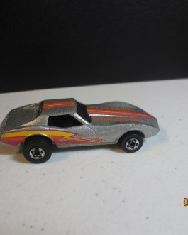 HOT WHEELS VINTAGE SILVER BLACKWALL CORVETTE STINGRAY RARE VARIATION EXCELLENT