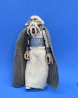 Vintage Kenner Star Wars ROTJ 1983 Squid Head (Tessek) Figure w/ Cloth Cape Belt