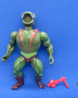 1984 MOTU He-Man Masters Of The Universe KOBRA KHAN Complete Action Figure