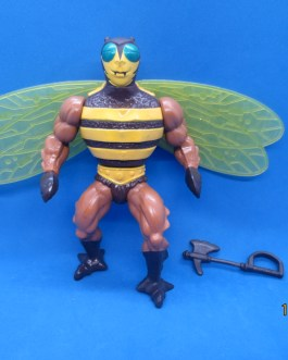 MOTU Masters of the Universe He-Man Near Complete Buzz off figure 1984