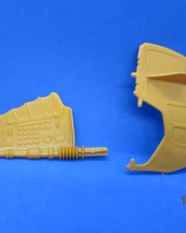 Vintage MOTU He-Man Masters of the Universe Wind Raider Wing and Rudder Parts