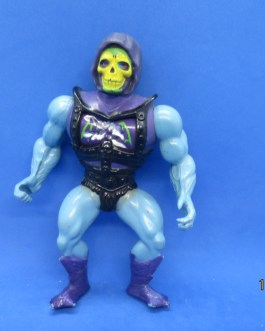 MOTU He-Man Vintage 1983 Battle Armor Skeletor Soft head variant figure nice