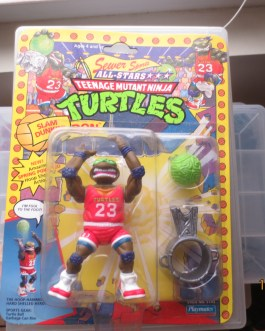 Teenage Ninja Turtles TMNT Sewer Sports All Stars SLAM DUNKIN' DON MOC 1991