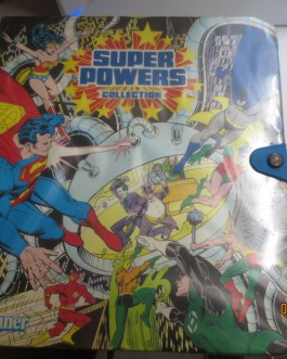 1984 KENNER DC SUPER POWERS COLLECTION ACTION FIGURE CASE VOLUME 1 a