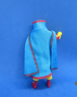 Red Tornado – Vintage DC Action Figure (1985) w/ Cape (Kenner Super Powers)