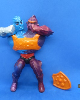 TWO BAD – Complete – Flat Back – Masters of the Universe – Mattel 1984 – NICE