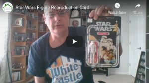 Beware of Star Wars Figure Reproduction Cards!