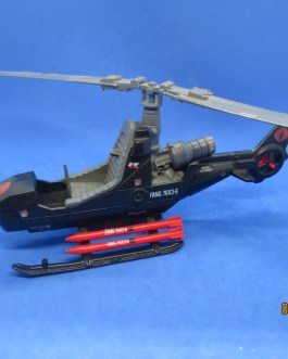 1983 HASBRO GI*JOE ARAH COBRA FANG FULLY-ARMED NEGATOR GYROCOPTER LOOSE