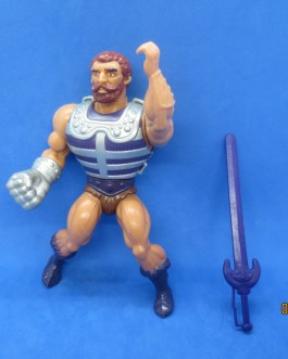 MOTU Vintage Fisto He-Man Masters of the Universe Figure complete 1983