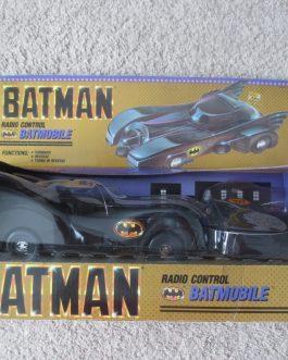 "1989 BATMAN ""RADIO CONTROL BATMOBILE"" BY (TOY BIZ) #4429 NIB never opened"