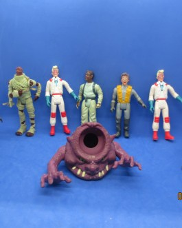 8 piece Real Ghostbusters Action Figures Lot Kenner 1980s nice