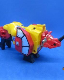 Vintage G1 Transformer Hasbro 1986 Headstrong Rhino Predacon
