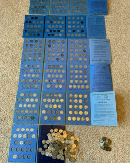 460 coin collection Jefferson Nickels 80 total wartime 1942-1945 inc