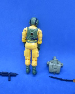 Vintage GI Joe Action Figure 1985 Airtight Complete