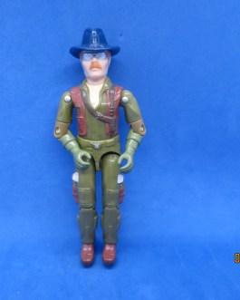 Wild Bill V1 1983 GI Joe Figure Hasbro Complete 3.75″ Dragonfly Pilot