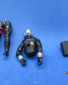 GI Joe 1983 Destro figure near complete missing waist