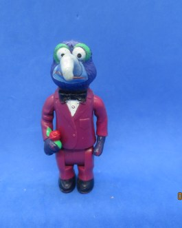 VINTAGE Gonzo in Prom Suit 3.25″ Ha! Inc. 1978 Action Figure The Muppets