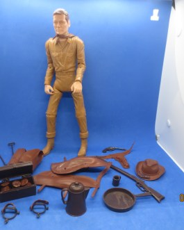 Vintage Marx Toys Johnny West Cowboy 11″ Action Figure