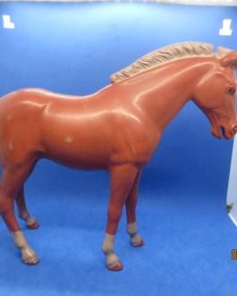 Vintage Marx Johnny West Pancho Horse pony Sorrel Bay figure a
